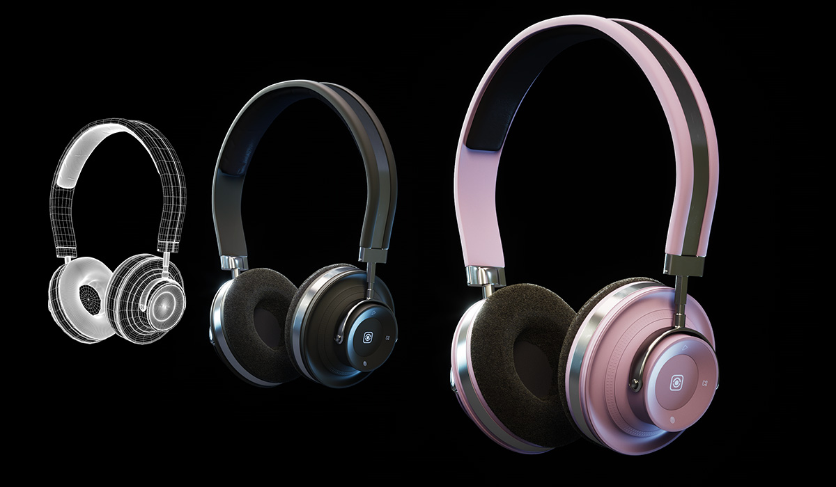 Appmatics Headphones ModelingView project